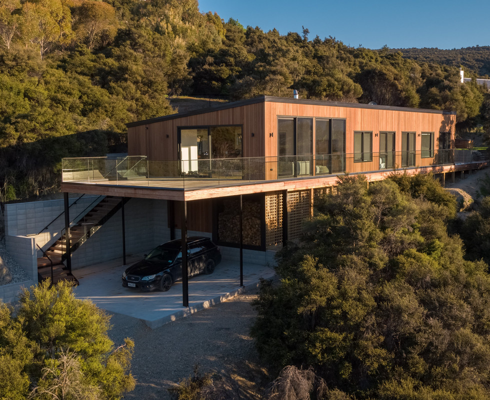 Wanaka Tree House - Residential Architectural Project