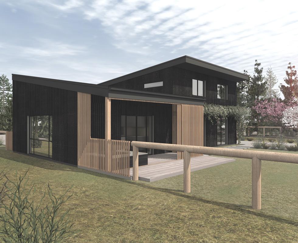 The Hawea Grove Sustainable Residential Project in Lake Hawea, Otago