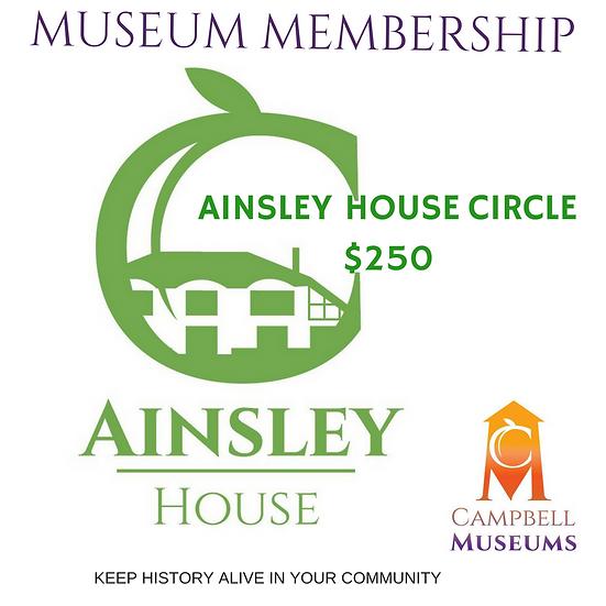 Museum Membership Ainsley House Circle
