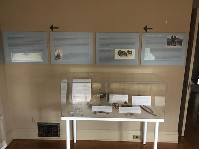 Muwekma Exhibit at Ainsley House: Back from extinction.JPG
