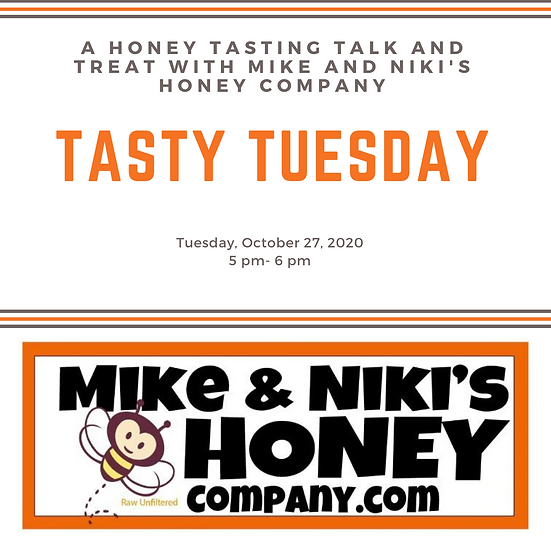 Mike and Niki's Honey Talk and Tasting