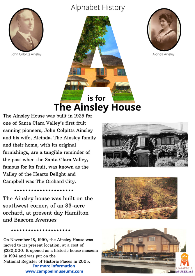 Alphabet History: A is for Ainsley House