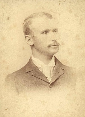 Portrait John Colpitts Ainsley cannery owner, 1891 [Image from the Campbell Historical Museum collection]
