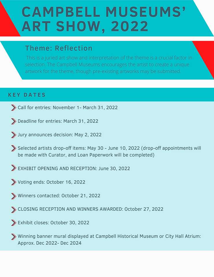 Web images for Campbell Museums' Art Show, 2022 Reflection_01.png