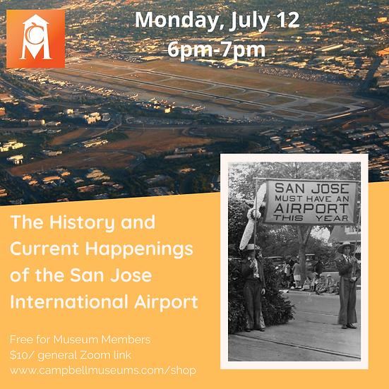 Membership Monday: The History & Happenings of San Jose International Airport
