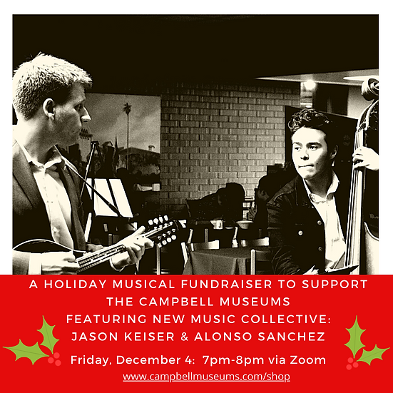 Campbell Museum Foundation:  Holiday Musical Fundraiser