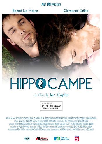 Affiche Hippocampe de Jan Caplin production Art DN