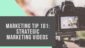 Marketing Tip 101: strategic marketing Videos
