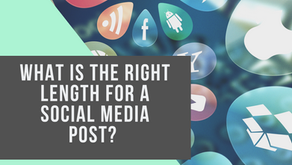 What is the right length for a social media post? Let's leverage your Instagram and Twitter accounts