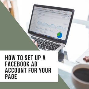How to set up a Facebook Ad account for your Page