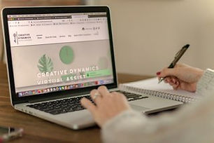 Creative Dynamics Virtual Services - Website Development