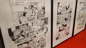 """1ere exposition """"D'une page à l'autre, la genèse d'un manga"""""""