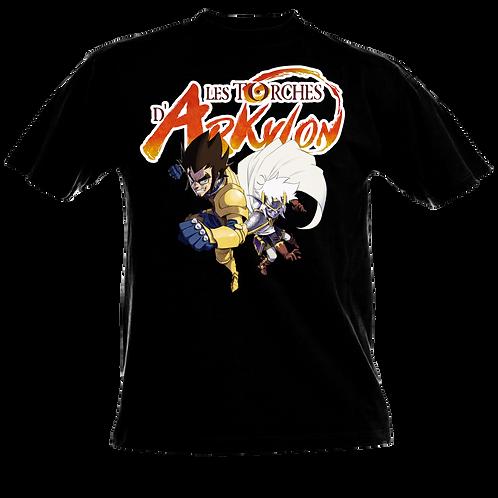 T Shirt couleurs Torches d'Arkylon T3