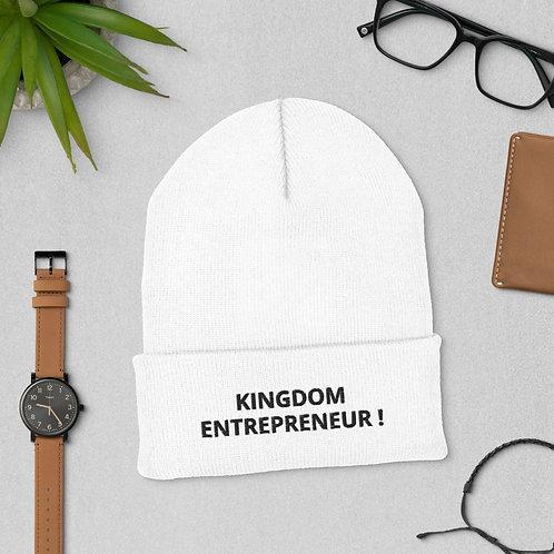Kingdom Entrepreneur Cuffed Beanie