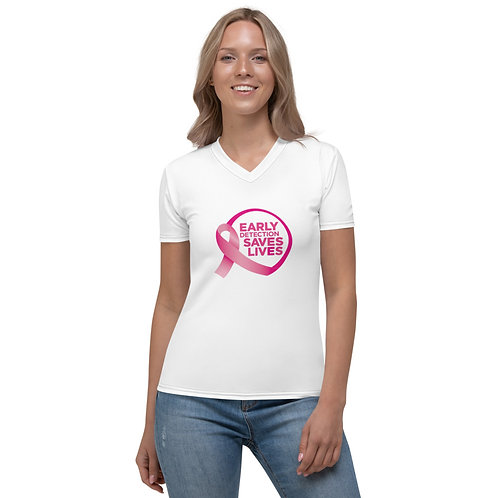 Early Detection Women's V-neck