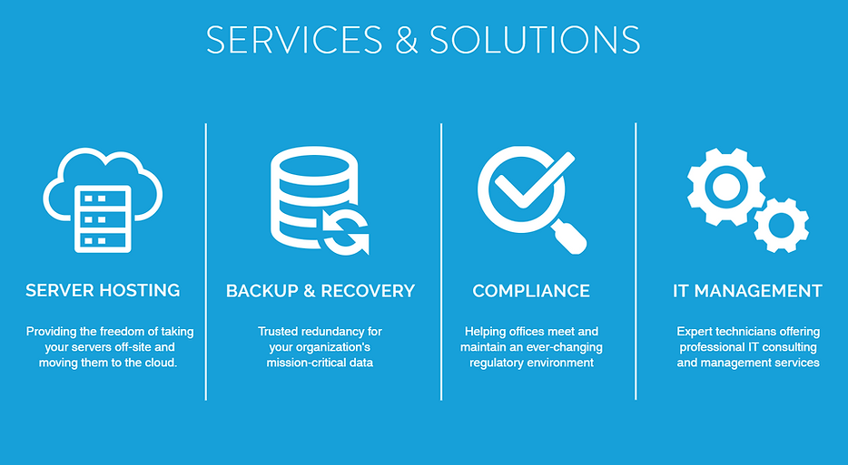 CDI Services and Solutions - Server Hosting, Backup & Recovery, Compliance, and IT Management