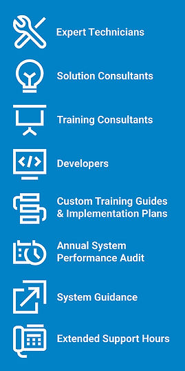 CDI Laserfiche Support Visual - Expert Technicians, Solution Consultants, Training Consultants, Developers, Traning Guides, System Audits, extended support hours.