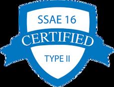 SSAE 16 Certified Type II Logo