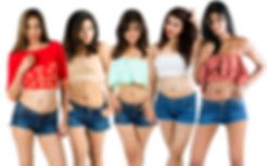 Indian Models posing for BeautifyNudity Campaign