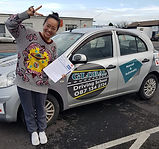 global driving school student passed test