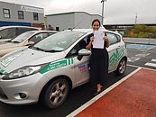 global driving school student passed driving test 21