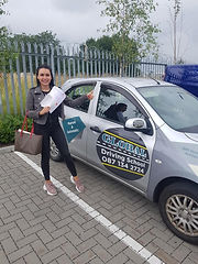 global driving school student passed driving test