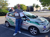 Global driving school dublin student passed a test
