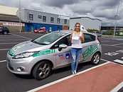 a global driving school dublin student just passed driving test
