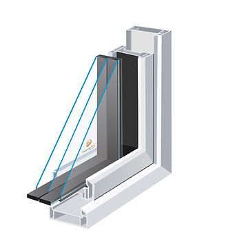 Triple Glazed Unit using Thermoflex