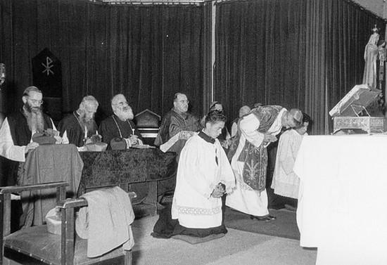 Ceremonia religiosa, 1957