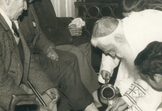 Ceremonia del Lavado de pies, después de 1977