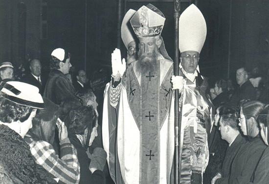 Consagración Episcopal de monseñor Valdés, 1956