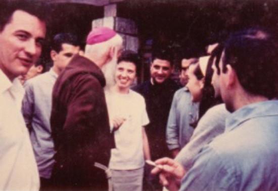 Visitando el Centro de espiritualidad focolar Mariápolis en Padre Hurtado, Santiago. 1974