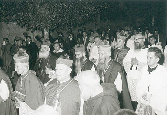 Procesión de la Consagración de Guillermo Hartl, 1957
