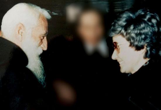 Monseñor Valdés con Chiara Lubich