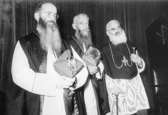 Los tres obispos capuchinos, 1957