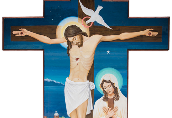 Cristo de la catedral de Puerto Montt