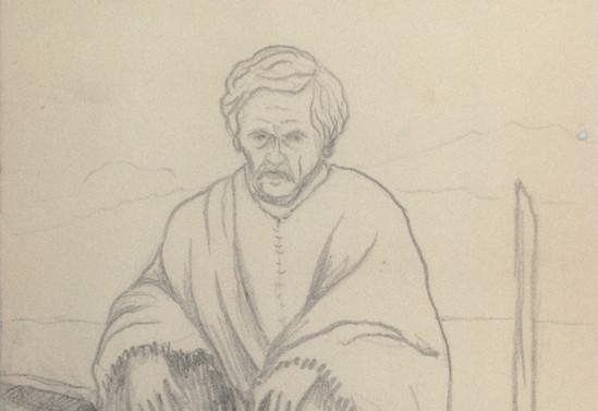 """Don José S. Chocano, el """"abuelo"""" de Rupumeica, de 96 años"""