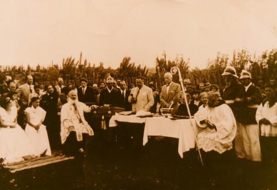 Fiesta de la Primavera en Pucón, c.1948