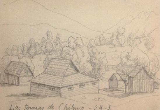 Las Termas de Chihuio. 29 de enero