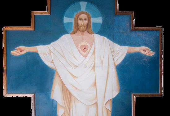 Cristo resucitado de la capilla San Pedro y San Pablo, Osorno