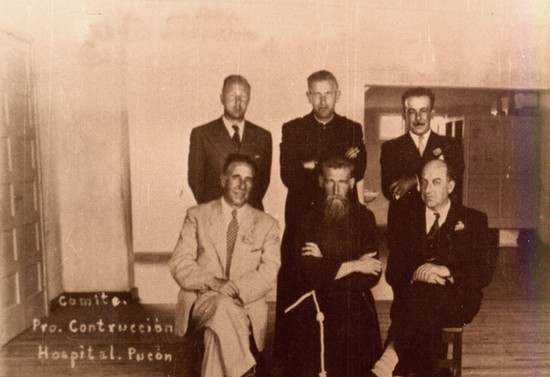 Comité Pro Construcción Hospital San Francisco de Pucón. Hacia 1943