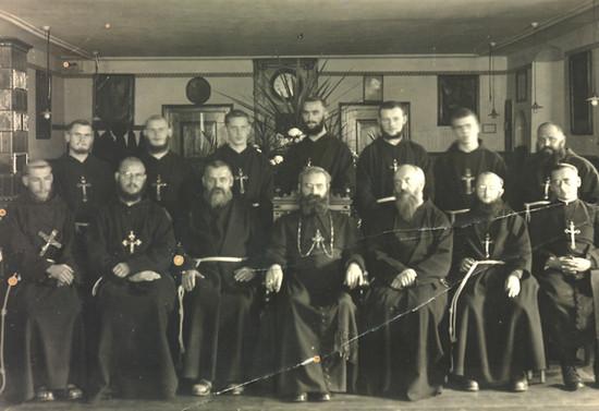 Misioneros Capuchinos en Alemania. 1934