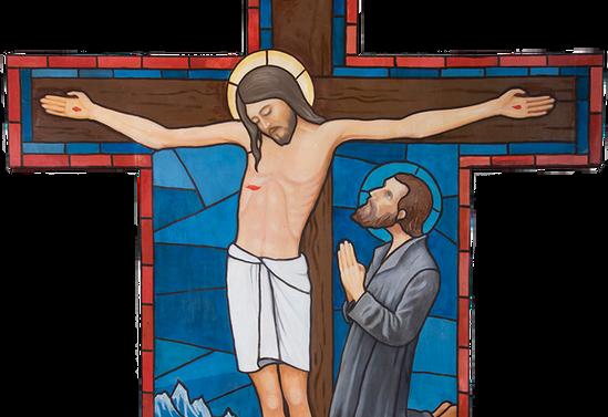Cruz de la capilla de Hueyusca. Purranque, Osorno