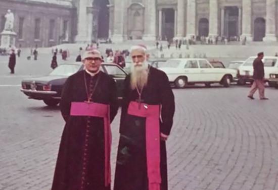 Visita al Vaticano. Entre los años 1969-1981