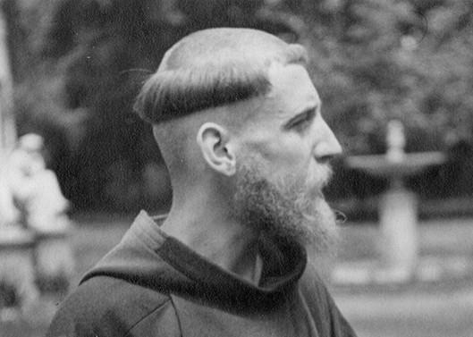 Padre Francisco Valdés en la Chacra Subercaseaux. Octubre de 1937