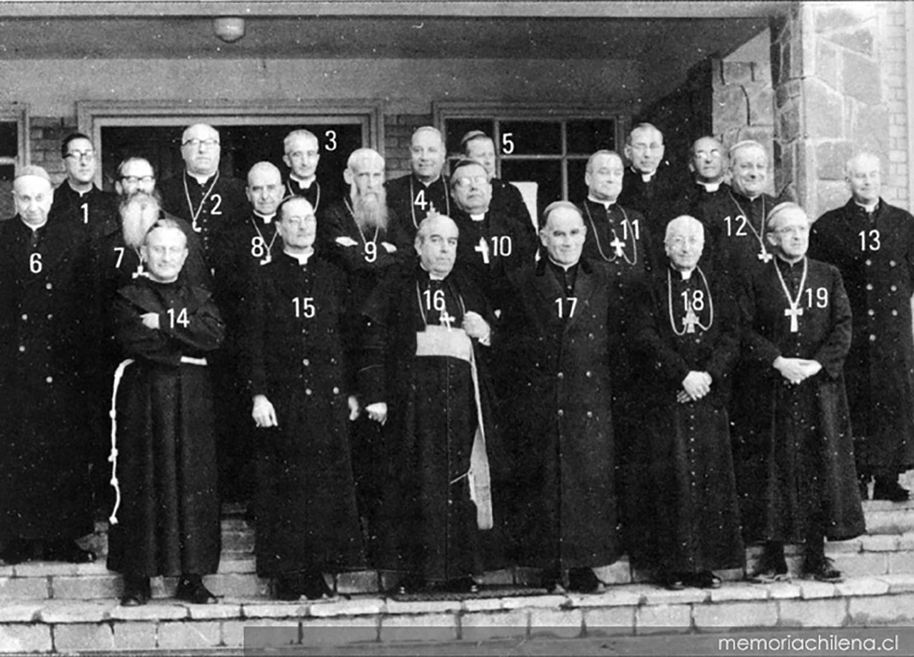 Reunión de la Conferencia Episcopal de Chile, 1962