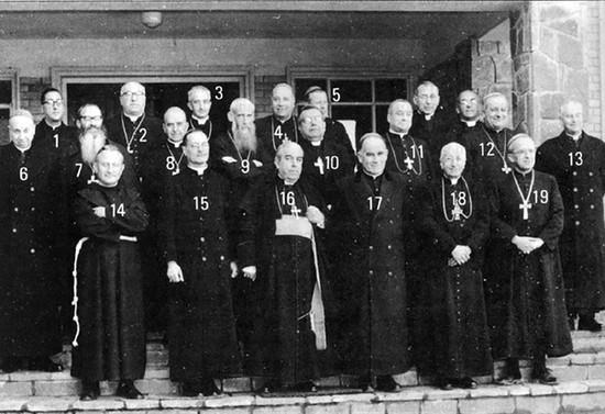Reunión de la Conferencia Episcopal de Chile, 1962
