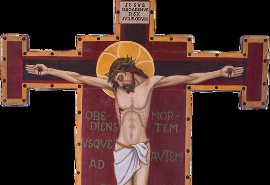 Cristo obediente hasta la muerte. Capilla Villa Almagro, Nueva Imperial
