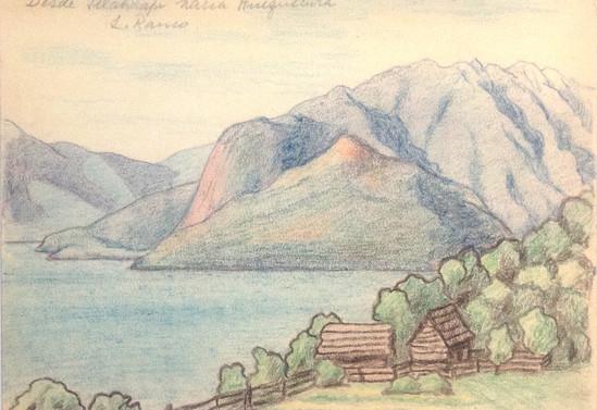 Desde Illahuapi hacia Huequecura. Lago Ranco